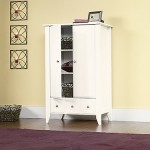 Child Craft Shoal Creek Ready-to-Assemble Armoire, SoftWhite
